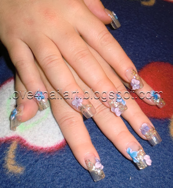 Clear Nails With Designs Nail Designs Hair Styles Tattoos And
