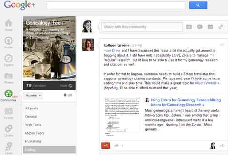 google _communities_gentech