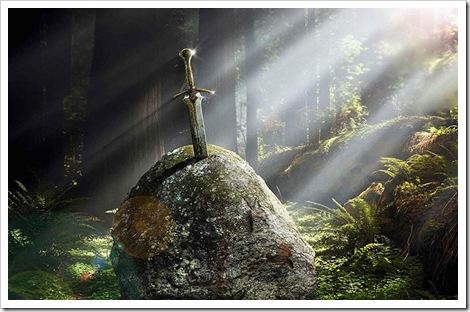 A espada Excalibur
