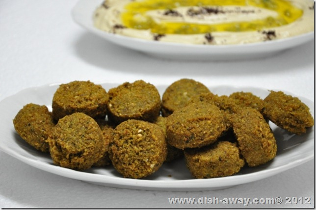Falafel Recipe by www.dish-away.com