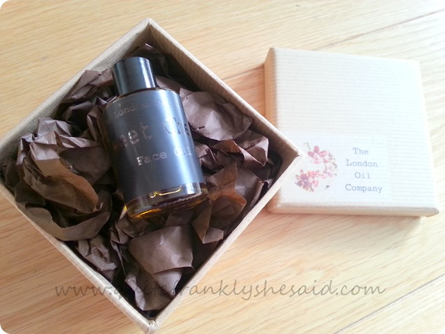 The London Oil Company Sweet Cheeks Face Oil  1