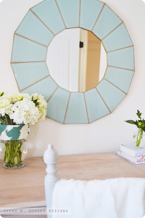 diy glass mirror
