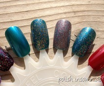 Nicole by OPI Khardashian Kolors Holiday Glitter and Shimmer 4