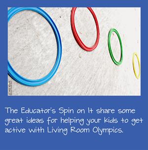 Living Room Olympics Kids Activiites
