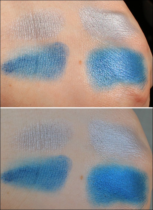 0 P2 Limited Edition LE Pool Side Party summer flirtin duo eyeshadow 020 Sea Jewels Swatch