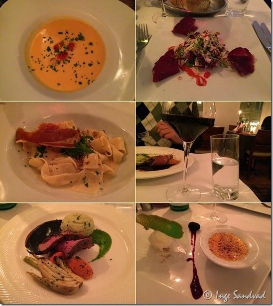 Amalfi-menu