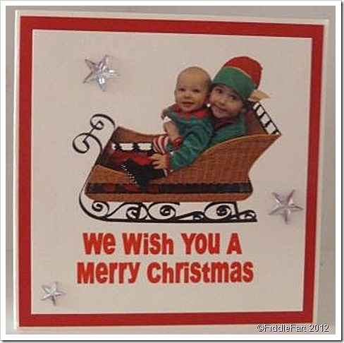 Christmas Elves Christmas Card
