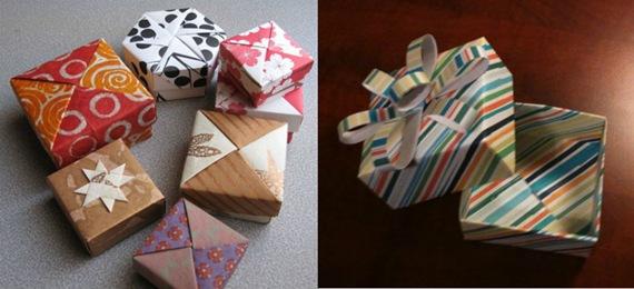 Caixa para Presente em Origami