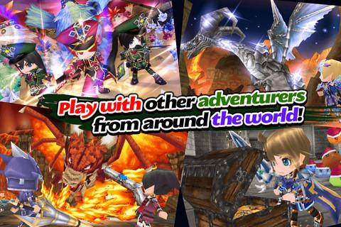 RPG Elemental Knights(3D MMO) Screenshot 7