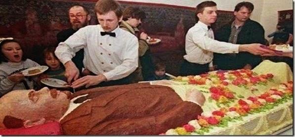 Lenin Death Anniversary Cake