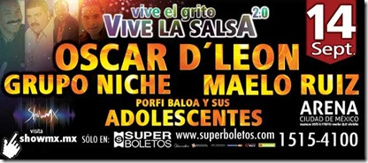 vive la salsa 2013 en mexico superboletos