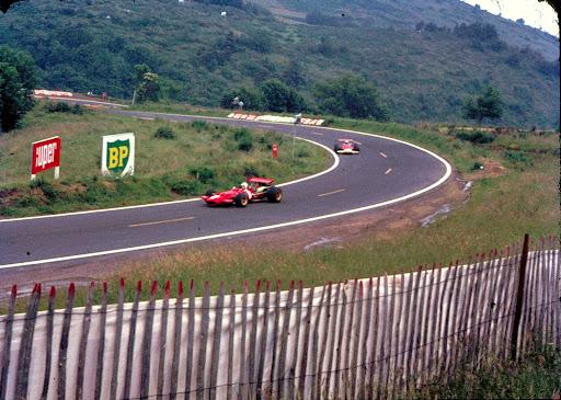 6 Chris AMON Scuderia Ferrari