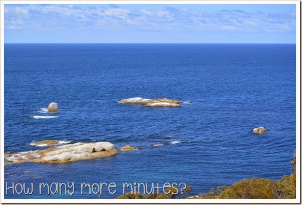 How Many More Minutes? ~ Bicheno, Tasmania