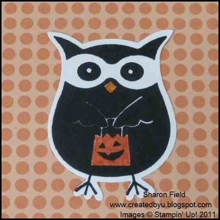 owl, builder_punch, free big shot machine, sign up, join my team, halloween, cards, cas, 5 minute card, sharon_field, holiday_mini, catalog, createdbyu_blogspot, warmest_wishes, hostess, party