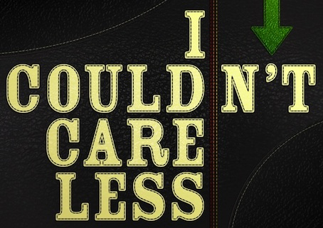 Couldnt care less