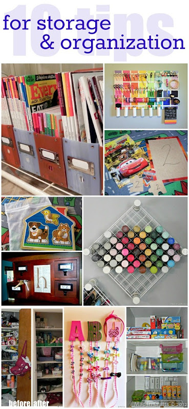 10 Tips for Storage and Organization