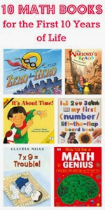 10 Math Books for 10 First Years From This Reading Mama