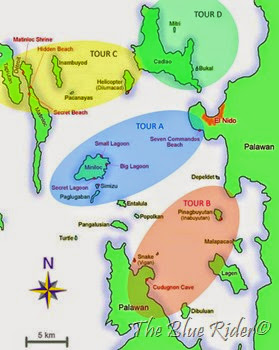 el-nido-tour-map