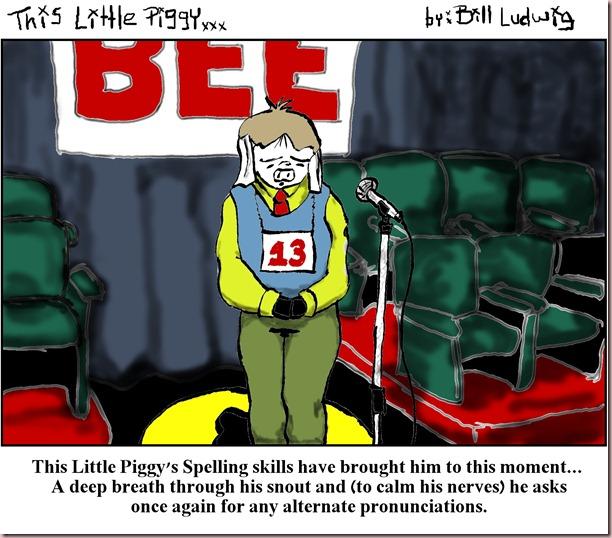 Piggy Spelling Bee