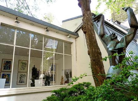 Musee Zadkine in Paris