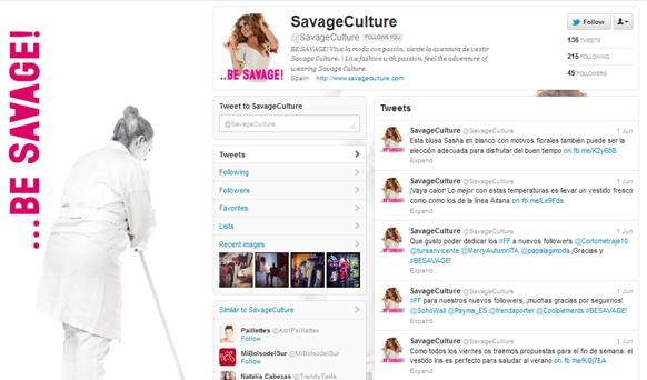 Twitter de Savage Culture