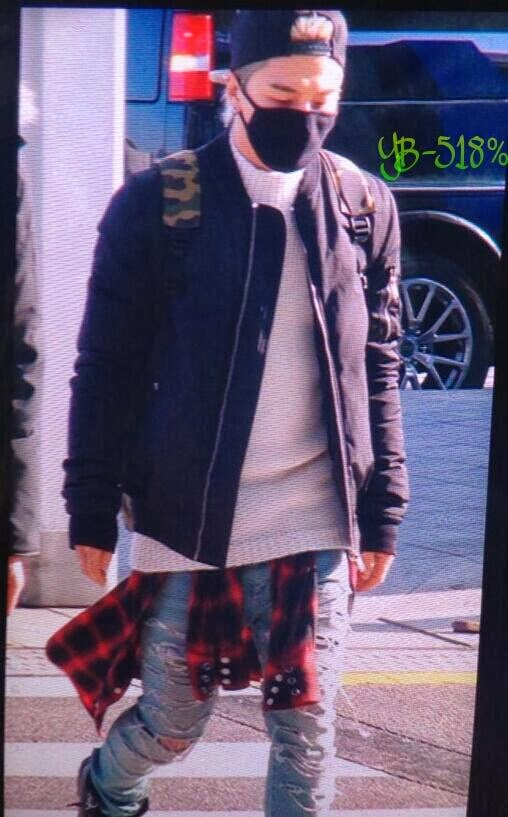 Big Bang - Incheon Airport - 13dec2013 - Tae Yang - Fan - YB 518% - 01.jpg