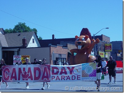 Canada Day Parade Windsor Ontario 2010