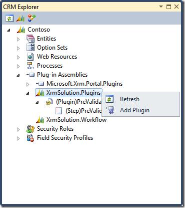 21 - Add plugin in CRM Explorer