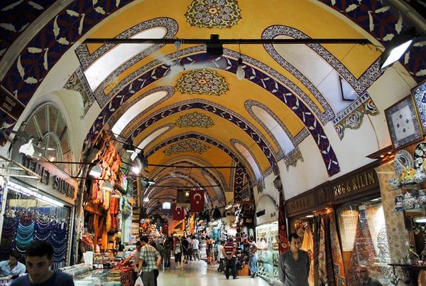 اسواق اسطنبول التركية