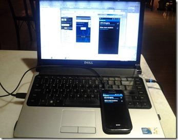 USB-debugging - Mencuba applikasi Android versi pembangunan pada peranti sebenar