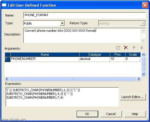 User Defined Functions in Informatica PowerCenter
