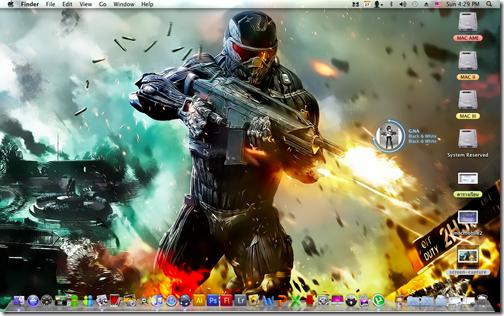 ทดสอบการติดตั้ง Mac OS X Snow Leopard 10.6.6 By HAZARD บน Acer Aspire 4736Z