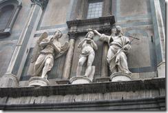 Baptistry Door - above the golden doors