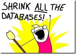 Shrink All The Databases