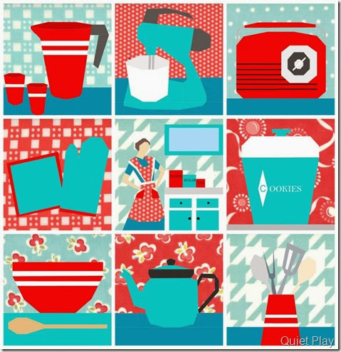Sew Kitschy BoM Patterns by Quiet Play