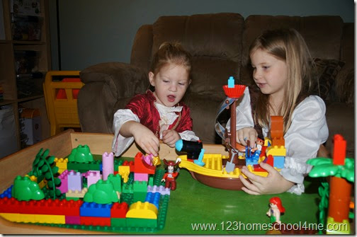 LEGO® DUPLO® Jake and the Neverland Pirates! Share your pictures for a chance to win awesome prizes!