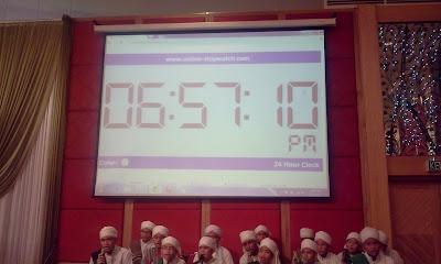 Buffet ramadhan di de palma hotel - jam waktu berbuka puasa