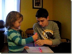 Emma & Cameron Colouring