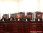 Des juges de la cour suprme de justice le 5/12/2011  Kinshasa. Radio Okapi/ Ph. John Bompengo