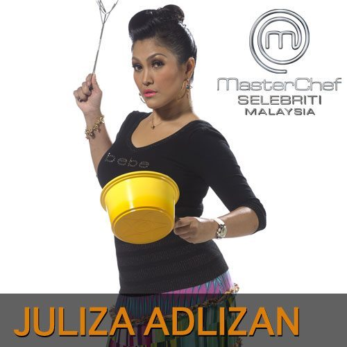 gambar juliza, juliza masterchef selebriti malaysia, masterchef selebriti malaysia