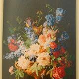 Gobelin 9163f, Bouquet Iris fonce, 150x110cm