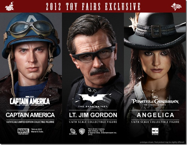 Hot Toys - 2012 Toy Fairs & Exclusive Items