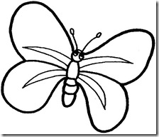 colorear mariposas pintaryjugar com (7)