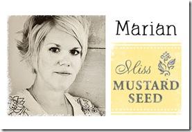 Marian Miss Mustard Seed