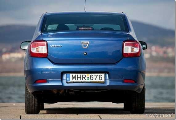 Dacia Logan Sedan test 05