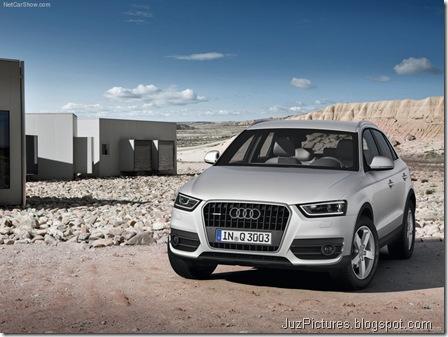 Audi Q3 - Front Angle3