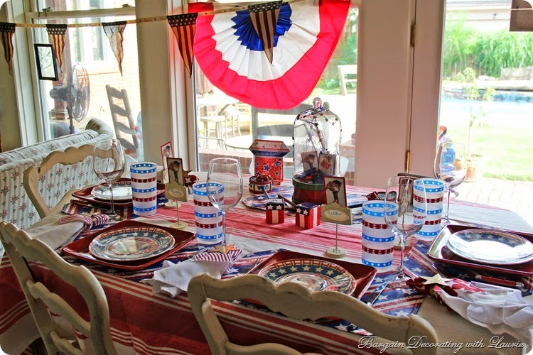 4th of July Table 12