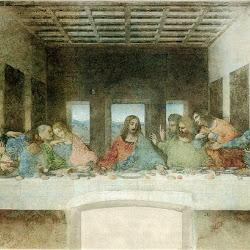 Leonardo da Vinci (1495-1498): La última cena. Santa Maria delle Grazie
