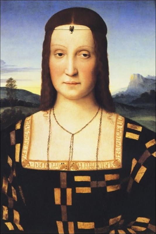 Raphael, Portrait d'Elisabeth de Gonzague