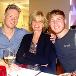 the Dutch Boys + mom in Berlin, Berlin, Germany